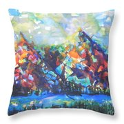 My Vision Say It Out Loud Throw Pillow by Chrisann Ellis