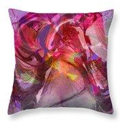 My Wild Iris Grows Throw Pillow by Brooks Garten Hauschild