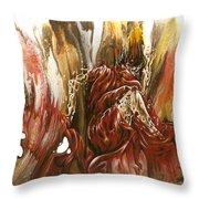 Mystery Throw Pillow by Karina Llergo