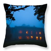 Mystery Night Throw Pillow by Svetlana Sewell