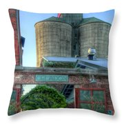 Napa Mill Throw Pillow by Bill Gallagher