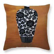 Narcissism And Loneliness 2 Throw Pillow by Tingting Su