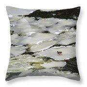 Nasty Weather - Featured 3 Throw Pillow by Alexander Senin