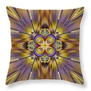 Native American Spirit Throw Pillow by Deborah Benoit