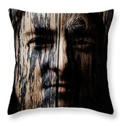 Native Heritage Throw Pillow by Christopher Gaston