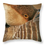 Natural Beauty Throw Pillow by Valia Bradshaw