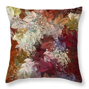 Naturaleaves - 88c02 Throw Pillow by Variance Collections