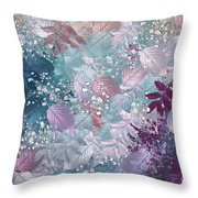 Naturaleaves - S1002b Throw Pillow by Variance Collections