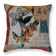 Nature Study Throw Pillow by Tamyra Crossley
