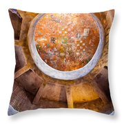 Navajo Watchtower Throw Pillow by Dave Bowman
