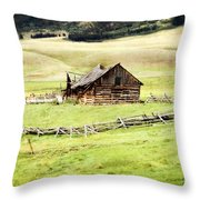 Near Helena Throw Pillow by Marty Koch