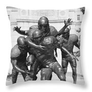 Nebraska Football Throw Pillow by John Daly