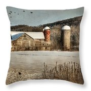 Neglected Throw Pillow by Lori Deiter