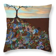 Neither Praise Nor Disgrace Throw Pillow by James W Johnson
