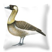 Nene Throw Pillow by Anonymous