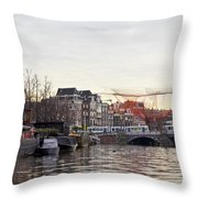 Nets Throw Pillow by Pravine Chester
