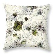 Neural Network Throw Pillow by Anastasiya Malakhova