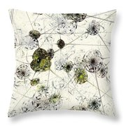Neural Network Throw Pillow by Anastasiya Malakhova