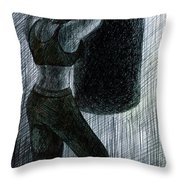 Never Enough Throw Pillow by Kd Neeley