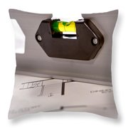 New Construction Throw Pillow by Olivier Le Queinec