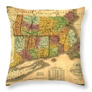 New England Throw Pillow by Gary Grayson