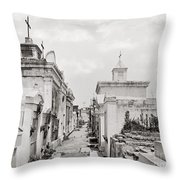 NEW ORLEANS: CEMETERY Throw Pillow by Granger