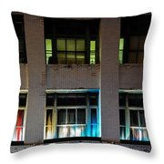 New Orleans Late Night Throw Pillow by Christine Till