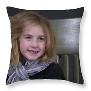 New Tooth Throw Pillow by Sean Griffin