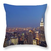 New York City Throw Pillow by Juergen Roth
