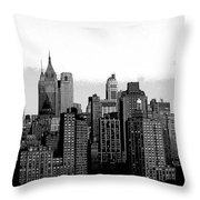 New York City Throw Pillow by Kathleen Struckle