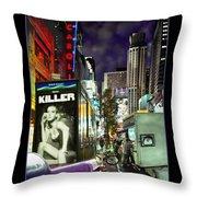 New York City Throw Pillow by Mike McGlothlen
