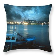 Night After Night Throw Pillow by Taylan Soyturk