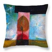 Night Comes Throw Pillow by Wojtek Kowalski
