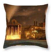 Night Shift Throw Pillow by Juli Scalzi