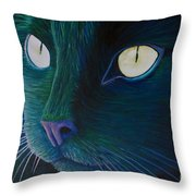 Night Vision Throw Pillow by Brian  Commerford