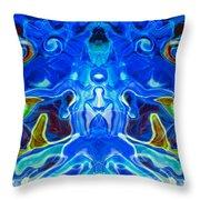 Night Watchers Throw Pillow by Omaste Witkowski