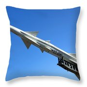 Nike Ajax Throw Pillow by Olivier Le Queinec