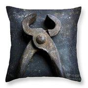 Nippers Throw Pillow by Bernard Jaubert