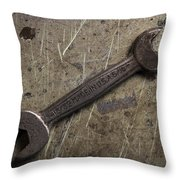 No Job Too Small Throw Pillow by Andrew Pacheco