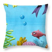 No Privacy Throw Pillow by Oiyee  At Oystudio