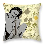 No Strings Attached Throw Pillow by Bill Cannon