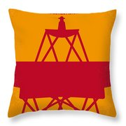 No081 My Star Trek 1 Minimal Movie Poster Throw Pillow by Chungkong Art
