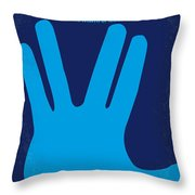 No082 My Star Trek 2 Minimal Movie Poster Throw Pillow by Chungkong Art