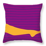 No135 My The Graduate Minimal Movie Poster Throw Pillow by Chungkong Art