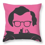 No147 My Annie Hall Minimal Movie Poster Throw Pillow by Chungkong Art