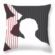 No185 My Psycho minimal movie poster Throw Pillow by Chungkong Art