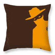 No202 My The Lone Ranger Minimal Movie Poster Throw Pillow by Chungkong Art