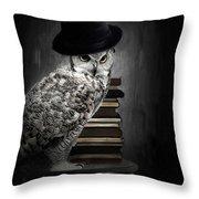 Noble One Throw Pillow by Lourry Legarde