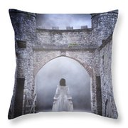 Noctambulism Throw Pillow by Joana Kruse