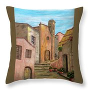 Nola Throw Pillow by Pamela Allegretto